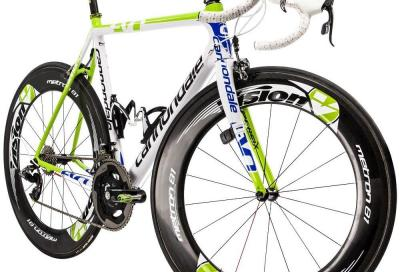 La bici del team Cannondale