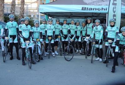 Il Bianchi factory racing team ha debuttato a Laigueglia