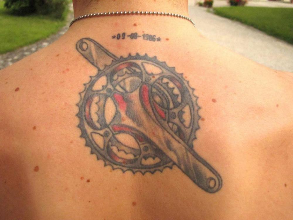 Giro Tattoo Ciclismo