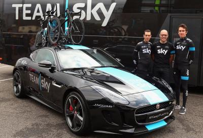 La speciale F-Type coupé per il team Sky