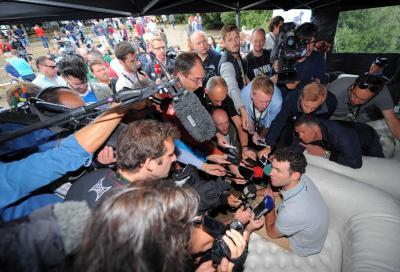 Cavendish fa visita al suo team
