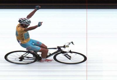 Nibali one-man show