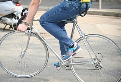 De Wallen, per urban biker