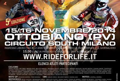 Ride for Life, ciclisti e motociclisti insieme