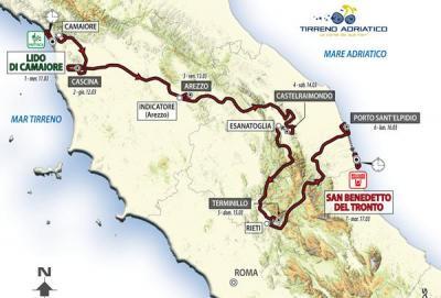 Svelata la Tirreno-Adriatico 2015