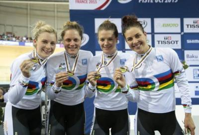 Australian Team Pursuit quartet
