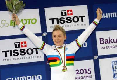 Edmondson won her second rainbow jersey