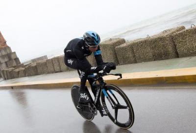 Tirreno Adriatico: crono di 10 km per decidere la classifica