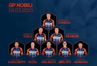 Gp Nobili: ecco i corridori del team #OrangeBlue