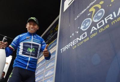 La Tirreno Adriatico è di Quintana