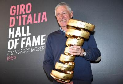 Moser nella hall of fame del Giro