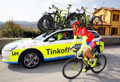 Citroën partner per due anni di Tinkoff-Saxo