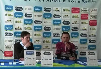Giro del Trentino: il primo leader è Benedetti