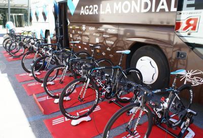 Backstage al Giro del Trentino