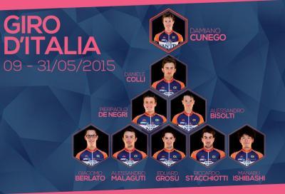 Nippo Vini Fantini: Cunego capitano al Giro