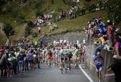 Giro: le riprese dalle bici