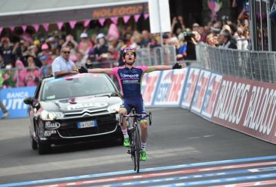 Giro: vince Polanc, Contador in rosa