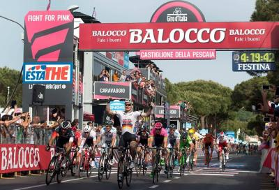 In Giro: tra volate e cadute