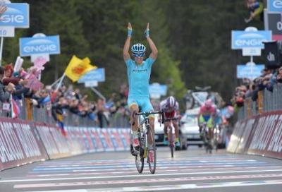 In Giro: Astana show a Madonna di Campiglio