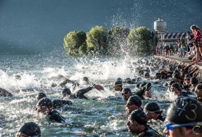 Grande triathlon all'Expo di Milano