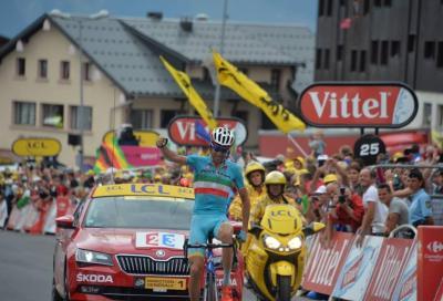 In Tour: Nibali show a La Toussuire