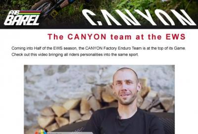 The Canyon team all'Ews