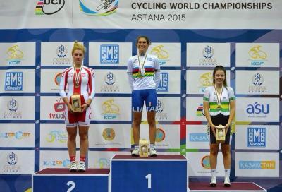 Elisa Balsamo campionessa del mondo dello scratch