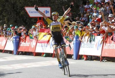 Settima tappa Vuelta: vince Lindeman