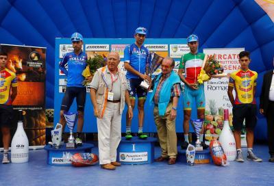 Memorial Pantani: tripletta azzurra