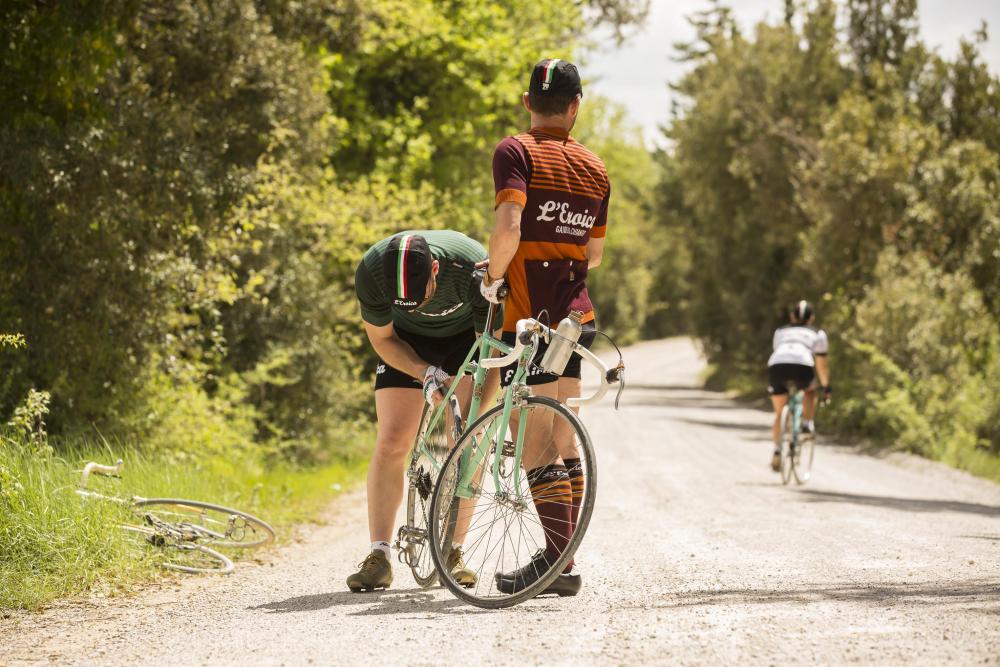 grande vendita scegli genuino sconto speciale di abbigliamento ciclismo vintage L'Eroica Santini - Ciclismo