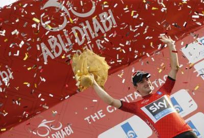 Abu Dhabi Tour: Viviani in maglia rossa