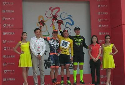 Tour of China II: tripletta di Nicolas Marini