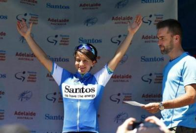 Tour Down Under donne: Scandolara c'è