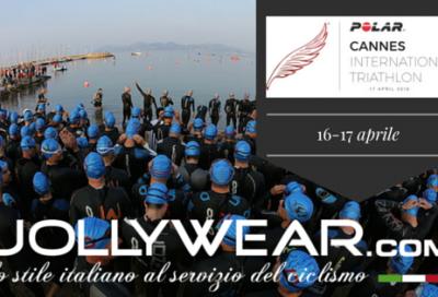 Il Cannes International Triathlon con Jollywear