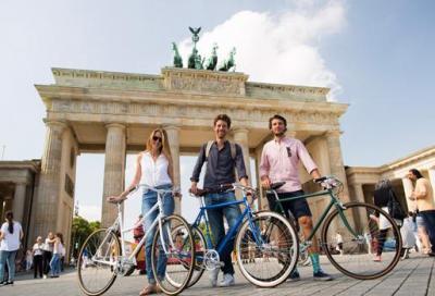 Berlino su due ruote