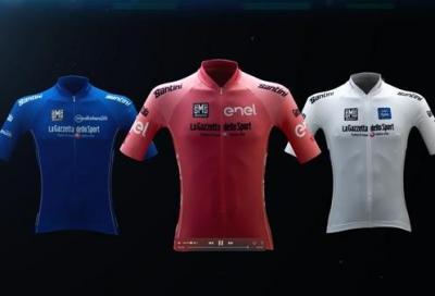 Presentate le maglie del 100° Giro d'Italia