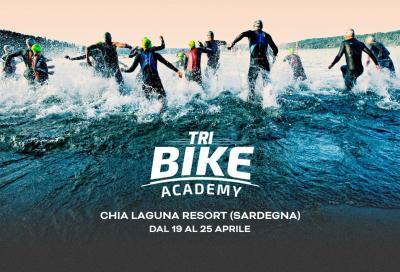Dal 19 al 25 aprile al via la prima Bike Academy Triathlon