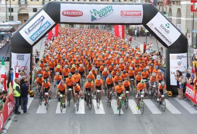 1000 iscritti per la Fausto Coppi Le Alpi del Mare