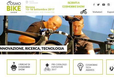 Verona si prepara a CosmoBike 2017
