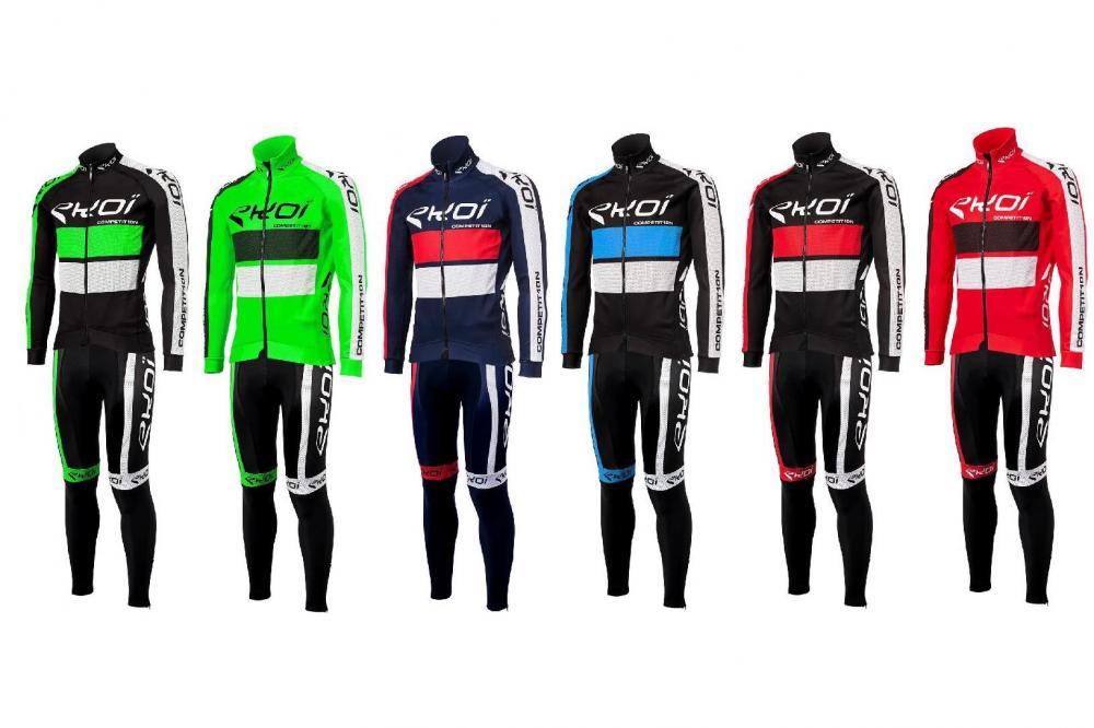 1ad93580b7fda4 Ekoi lancia Competition 10, abbigliamento invernale per ciclismo ...