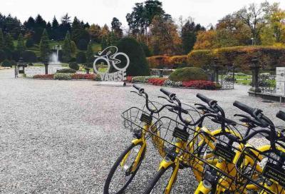 """Ofo """"entra"""" a Varese con trecento bici"""