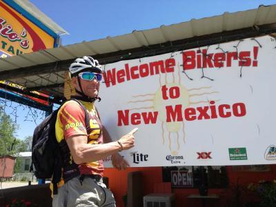New Mexico, rotta verso nord