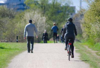 Le P.A. padane a scuola di bicicletta