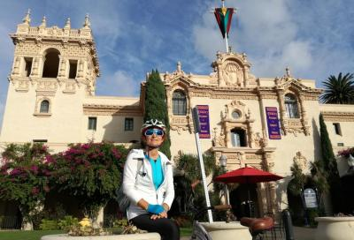 In bici lungo l'American RIviera