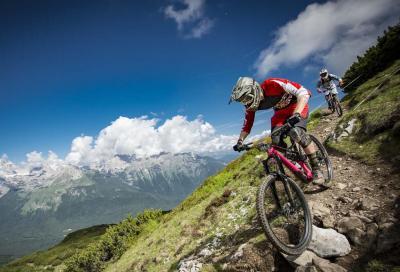 Markus Reiser domina la prima gara dell'Enduro Race Dolomiti Paganella