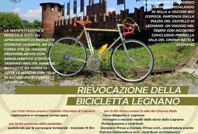 A Legnano si pedala per far rivivere il passato