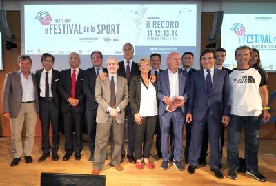 Oltre 150 ospiti a Trento per il Festival dello Sport