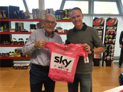 A Dino Signori la maglia rosa 2018