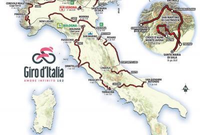 Il Giro 2019 tutto su suolo italiano
