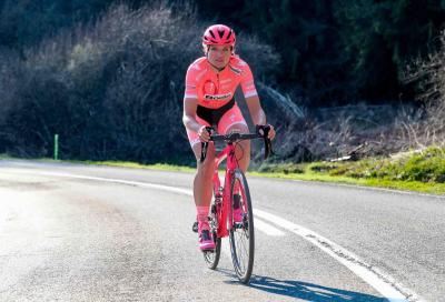 Team Boels Dolmans e Santini a sostegno di Pink Ribbon per la ricerca sul tumore al seno